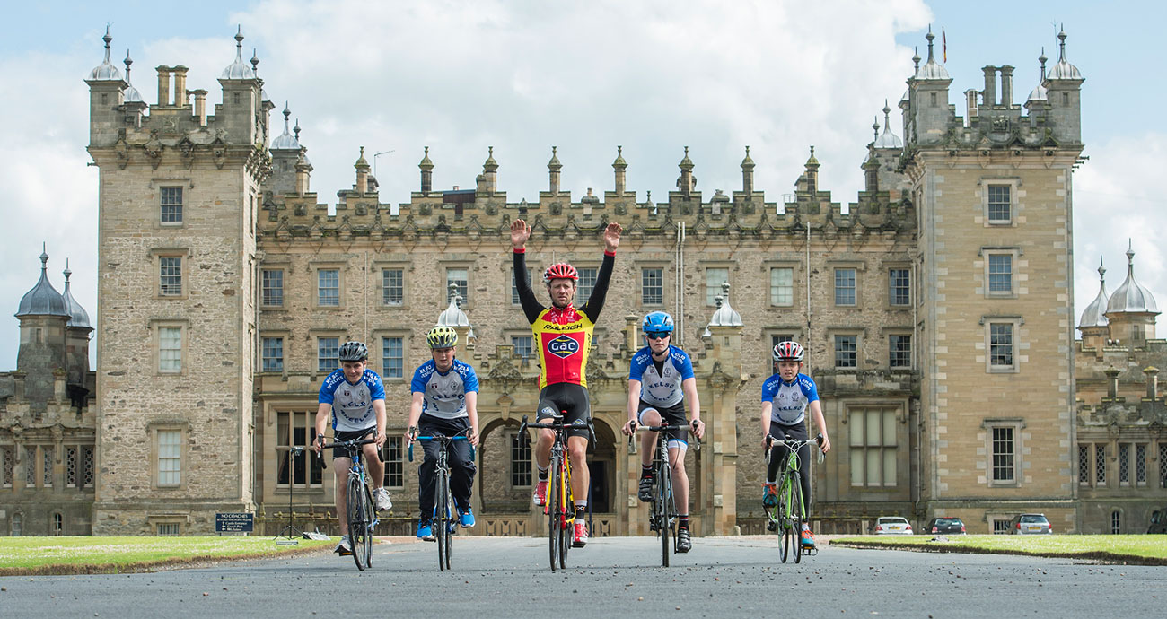 Tour of Britain comes to town